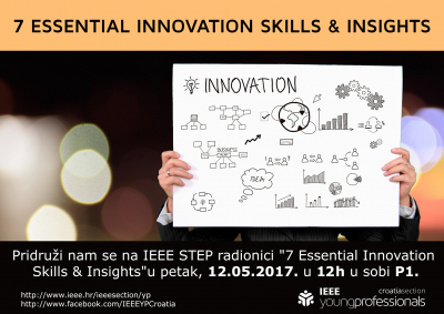 IEEE STEP - 7 essential innovation...