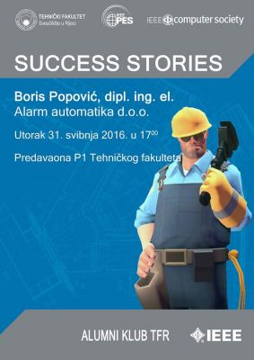IEEE Success Stories trece predavanje